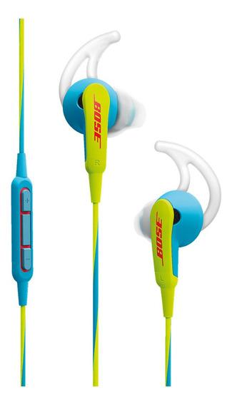 Auriculares Bose SoundSport in-ear headphones neon blue