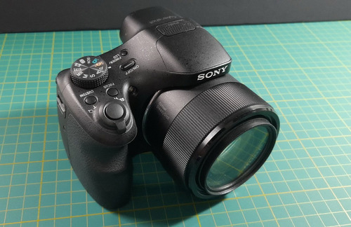 Sony Hx300 20 Mp Zoom 50x Com Acessórios Aceito Trocas