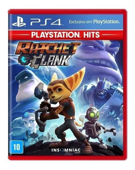 Game Ratchet & Clank Mídia Física Ps4 Original Lacrado Top