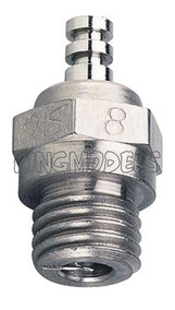 Vela Os Nº8 - Motores Glow-original! Cuidado C/ Falsificação