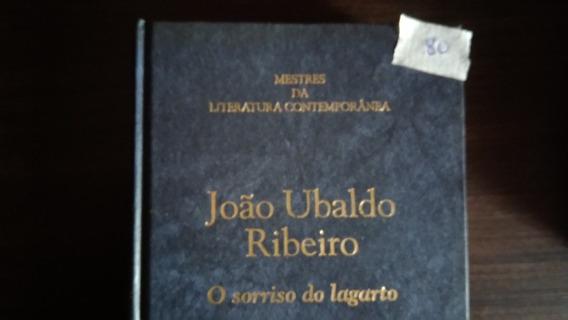 Livro O Sorriso Do Lagarto João Ubaldo Ribeiro Capa Dura