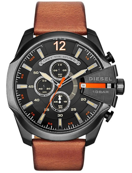 Relógio Diesel Masculino Mega Chief Dz4343/0pn