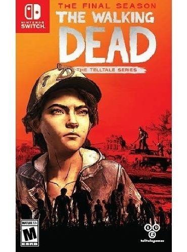 The Walking Dead Final Season Switch Mídia Física Lacrado