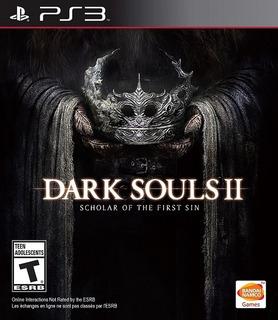 Dark Souls 2 Ii Scholar Of The First + Todos Los Dlc Ps3