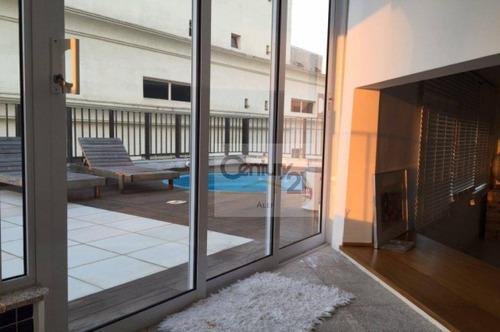 Imagem 1 de 19 de Cobertura, 230 M² - Venda Por R$ 3.000.100,00 Ou Aluguel Por R$ 15.000,00 - Higienópolis - São Paulo/sp - Co0023