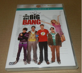 Big Bang Theory Temporada 2 Contiene 4 Discos