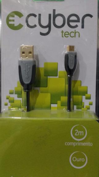Cabo Usb X Mini Usb B Cyber 2 Mts