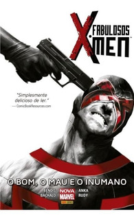 3 Hq Marvel Capa Dura Fabulosos X-men X-man Novíssimos