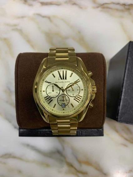 Michael Kors Oversized Bradshaw Gold Tone Watch