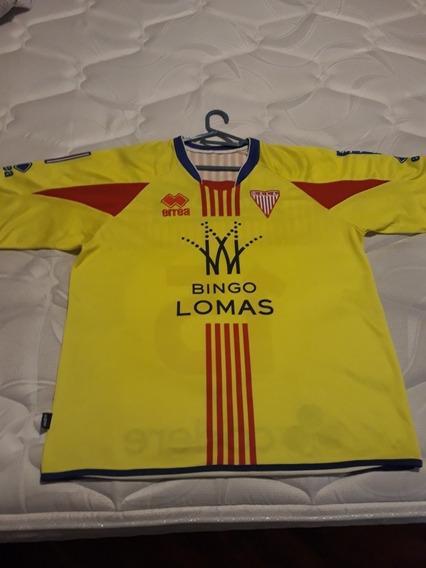 Camiseta Los Andes Match Worn Errea Alternativa De Utilería