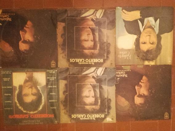 6 Discos De Roberto Carlos Gran Coleccion
