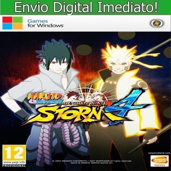 Naruto Ultimate Ninja Storm 4 Pc Hd Envio Imediato.