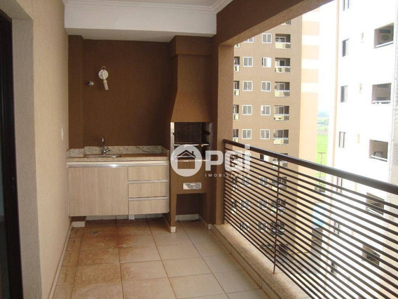 Apartamento Com 3 Dormitórios Para Alugar, 112 M² Por R$ 1.500,00/mês - Nova Aliança - Ribeirão Preto/sp - Ap4560