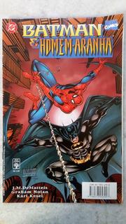 Hq Batman E Homem-aranha - Envio Econômico