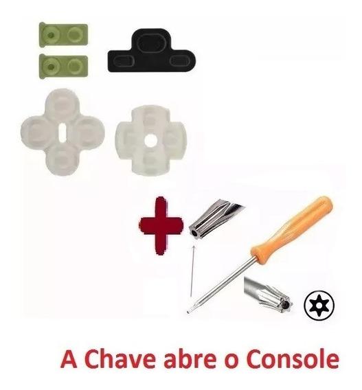 4 Kits Borrachas P Controle Ps3 -frete 12,60
