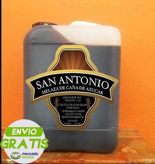 Melaza De Caña 100% Natural Garrafa Con 5 Litros, 8 Kilos
