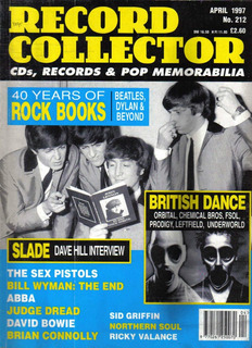 Beatles Abba Slade Bowie Revista Record Collector Uk 1997