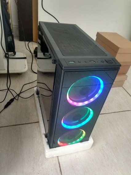 Pc Gamer Fx6300 8gb Ssd120gb 2tb 1050ti 500w