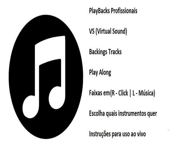 Playbacks Profissionais (l/r) Click Metrônomo + Música