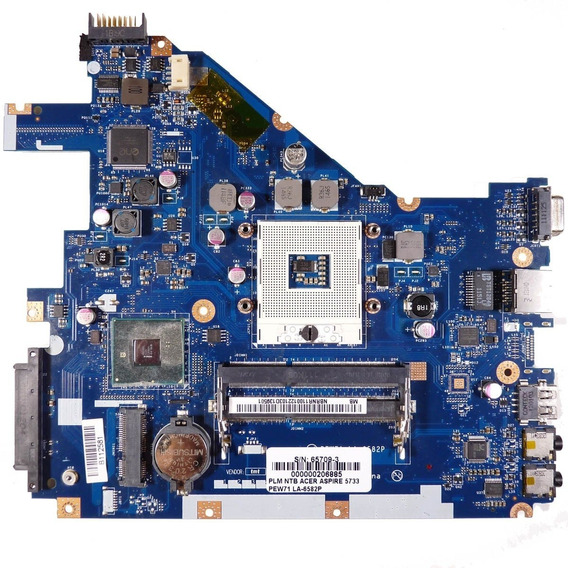 Placa Mãe Acer Aspire Pew71 La-6582p