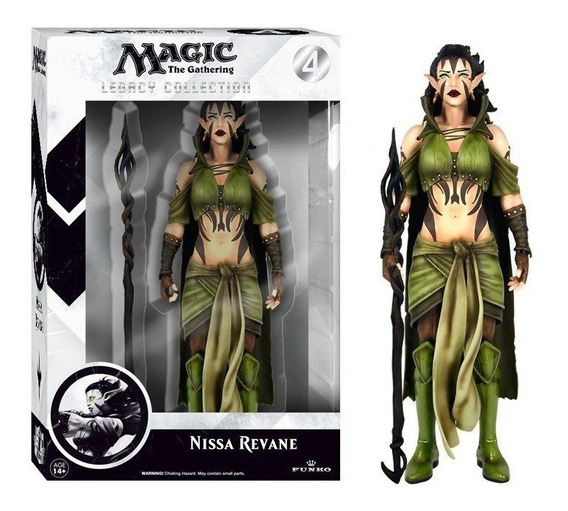 Boneco Colecionável - Nissa Revane - Magic The Gathering