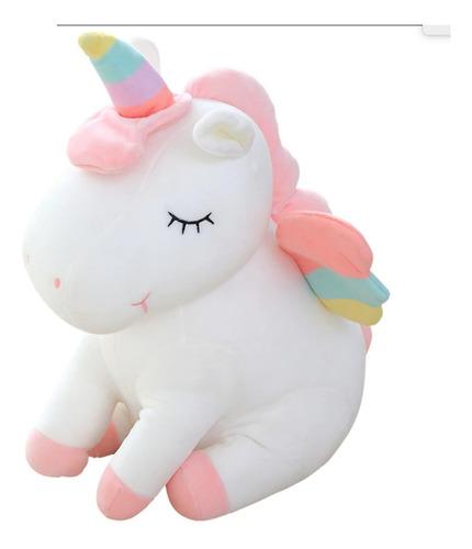 Unicornio Pony De Peluche Arcoiris  Tipo Kawaii Envio Gratis