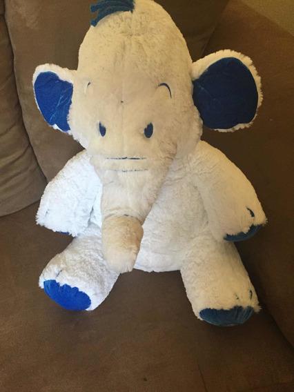 Bicho De Pelucia Elefante Branco Filme Dumbo Disney