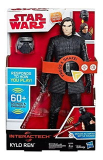 Kylo Ren Muñeco Interactivo Star Wars Hasbro C1435 Edu Full
