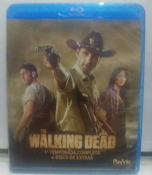 Box Blu-ray The Walking Dead - 1° Temporada ( 02 Discos )