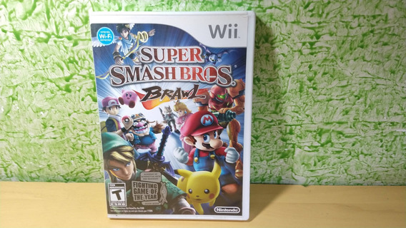 Super Smash Bros. Brawl Nintendo Wii Original Seminovo