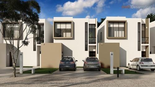 Casa En Venta En Conkal Mérida, Lista Para Habitar Cv-6473