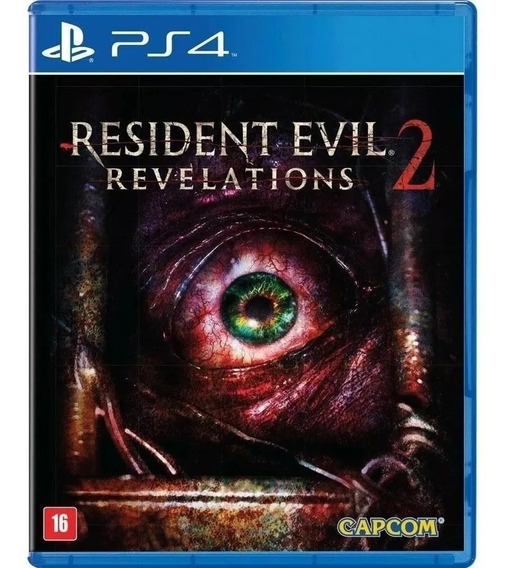 Resident Evil Revelations 2 Ps4 Mídia Física Em Portugues
