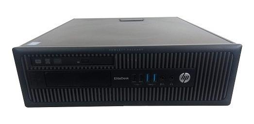 Desktop Hp 800 Gi Sff Core I5 8gb Ram Ssd 120gb Wind 10 !