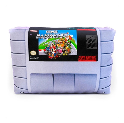 Cojín Super Nintendo Super Mario Kart 30x20cm Vudú Love