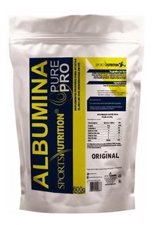 Albumina Pure Pro 600g - 81g De Proteina Na Dose -