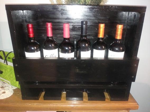 Botellero O Vinera De Madera