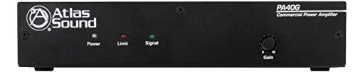 Amplificador Atlas Sound 40w 70v Amplificador ®