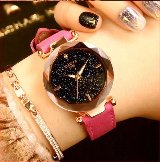 2 Relógios Xiaoya 2018 Luxo Pulseiras De Couro Caixa Suporte