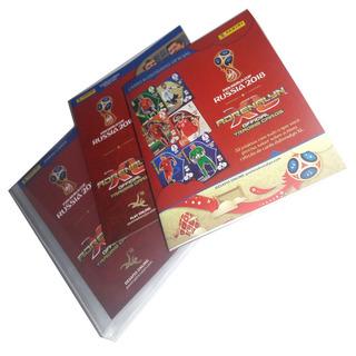 Pasta Porta Cards Copa 2018 Adrenalyn Oficial Panini Usado*