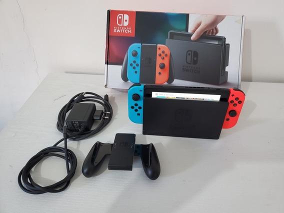 Nintendo Switch Muito Novo 15 Jogos Ja Instalado