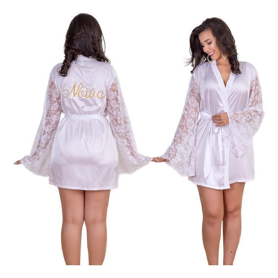 Robe Roby Noiva Casamento Luxo #midoranoiva