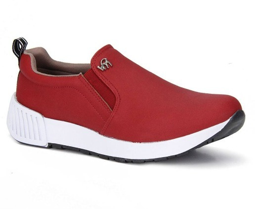 Tenis Feminino Casual Via Marte Slip On Jogging Original