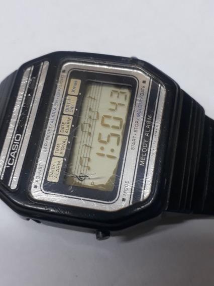Relógio Casio Melody . Alarme. Rarissimo 82h108
