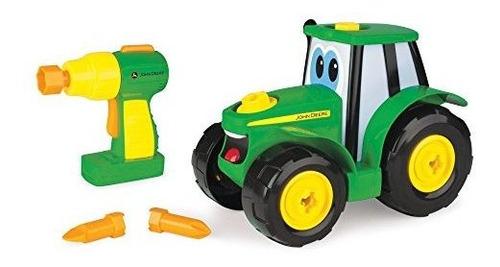 Imagen 1 de 5 de Tomy John Deere Build-a-johnny Tractor