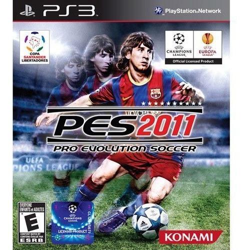 Jogo Pes Pro Evolution Soccer 2011 Ps3 Mídia Física Novo