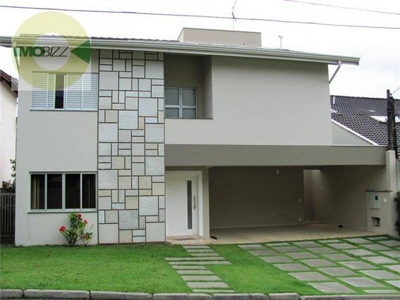 Casa Residencial À Venda, Jardim Paiquerê, Valinhos. - Ca1049