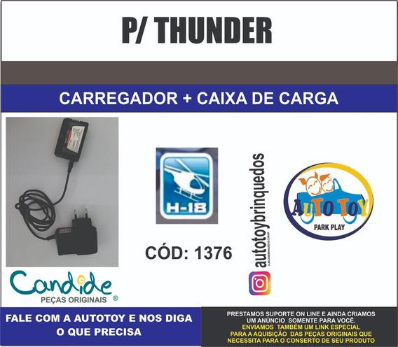 Thunder 1376 H-18 - Carregador 7.4v + Caixa De Carga