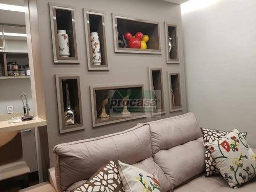 Imagem 1 de 16 de Apartamento Com 2 Dormitórios À Venda, 70 M² Por R$ 400.000 - Paz - Manaus/am - Ap2871