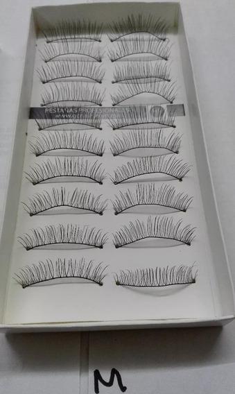 Paquete De 10 Pares De Pestañas Para Completar Tu Maquillaje