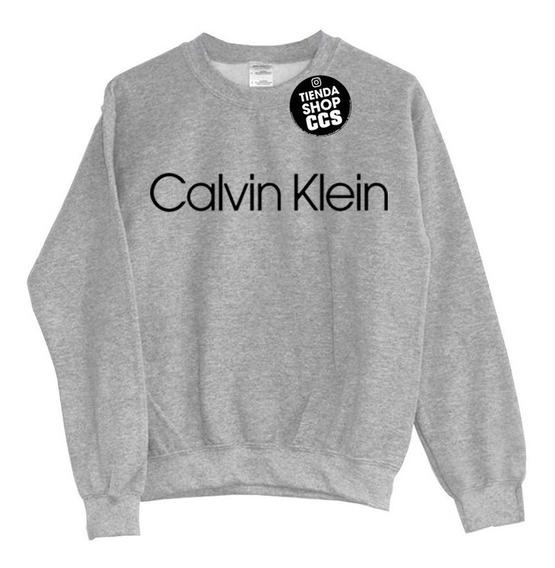 Sweater Calvin Klein Sin Capucha Algodón Dama Y Caballero